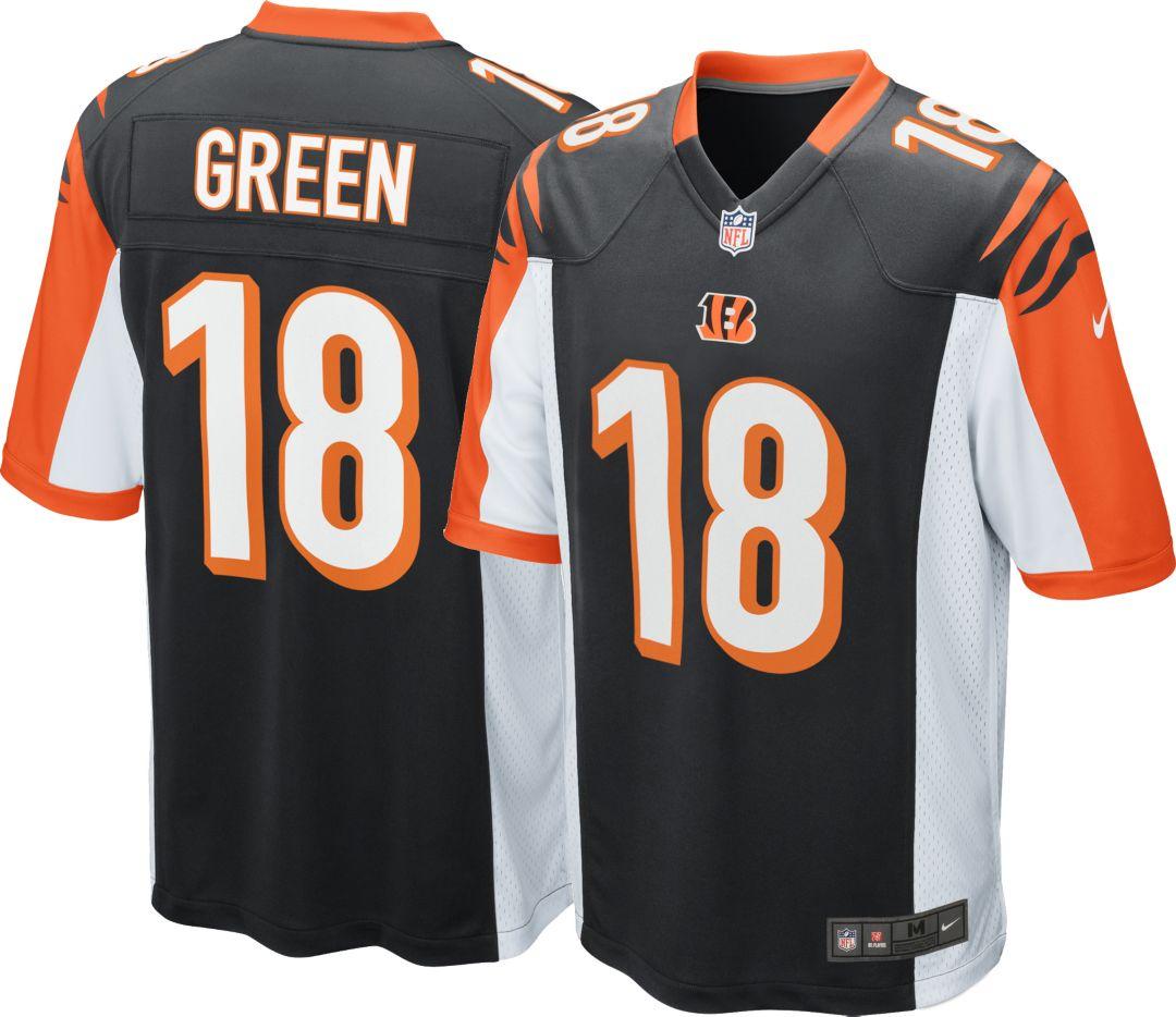 huge discount 3090c d1514 Nike Men's Home Game Jersey Cincinnati Bengals A.J. Green #18