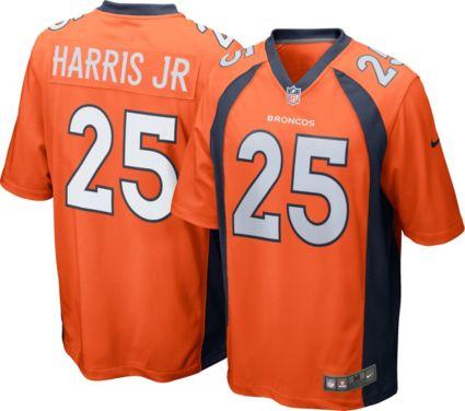 31b7e8d7a Nike Men s Home Game Jersey Denver Broncos Chris Harris Jr.  25 ...
