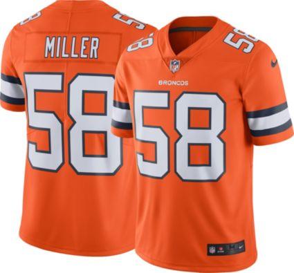 162dc7ea4 Nike Men s Color Rush Limited Jersey Denver Broncos Von Miller  58.  noImageFound