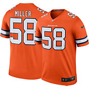 Nike Men's Denver Broncos Von Miller #58 Orange Legend Jersey