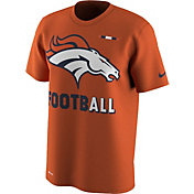 Nike Men's Denver Broncos Sideline 2017 Legend Football Performance Orange T-Shirt