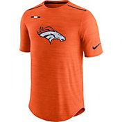 Nike Men's Denver Broncos Sideline 2017 Player Orange Top
