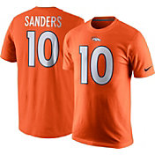 Nike Men's Denver Broncos Emmanuel Sanders #10 Pride Orange T-Shirt