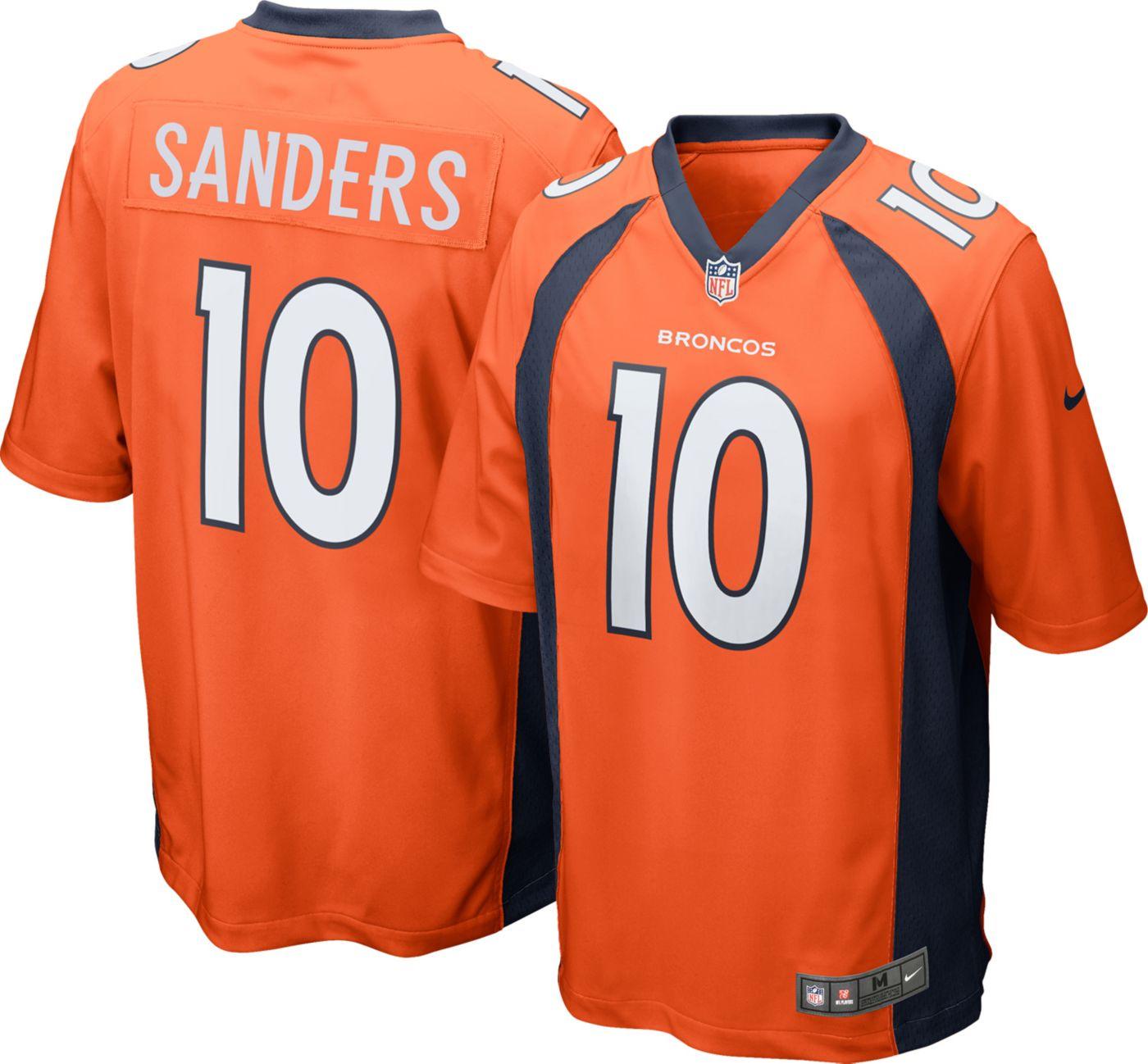 Nike Men's Home Game Jersey Denver Broncos Emmanuel Sanders #10