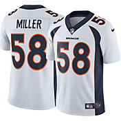 Nike Men's Away Limited Jersey Denver Broncos Von Miller #58