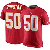 Nike Men's Kansas City Chiefs Justin Houston #50 Pride Red T-Shirt