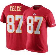 Cheap Nike Men's Kansas City Chiefs Travis Kelce #87 Pride Red T Shirt  supplier