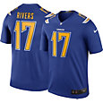 Nike Men's Color Rush Los Angeles Chargers Philip Rivers #17 Legend Jersey