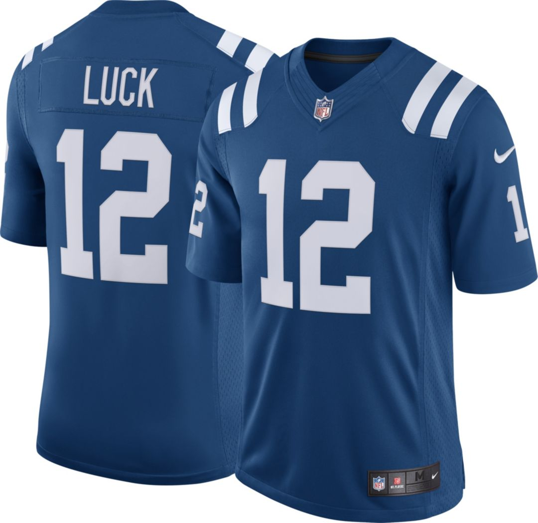 Nike Men's Home Limited Jersey Indianapolis Colts Andrew Luck #12