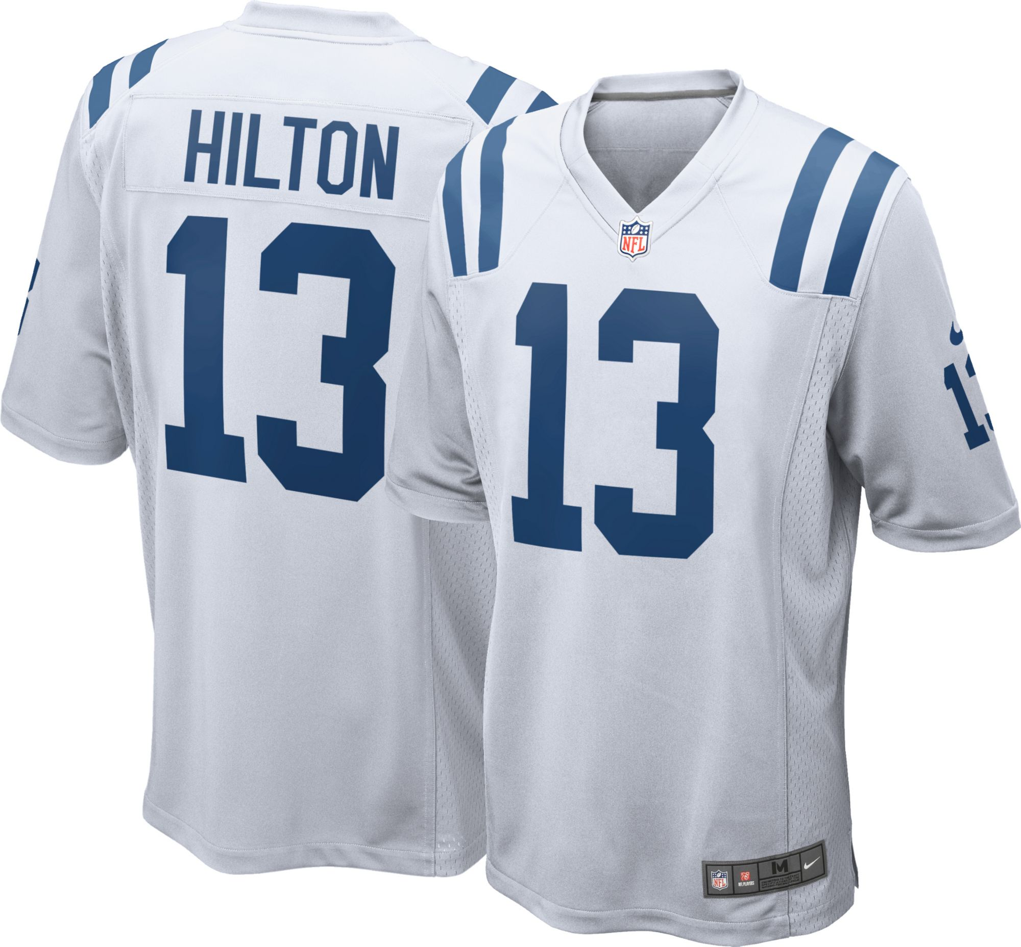 a0d920644 Nike Men s Away Game Jersey Indianapolis Colts T.Y. Hilton  13 ...