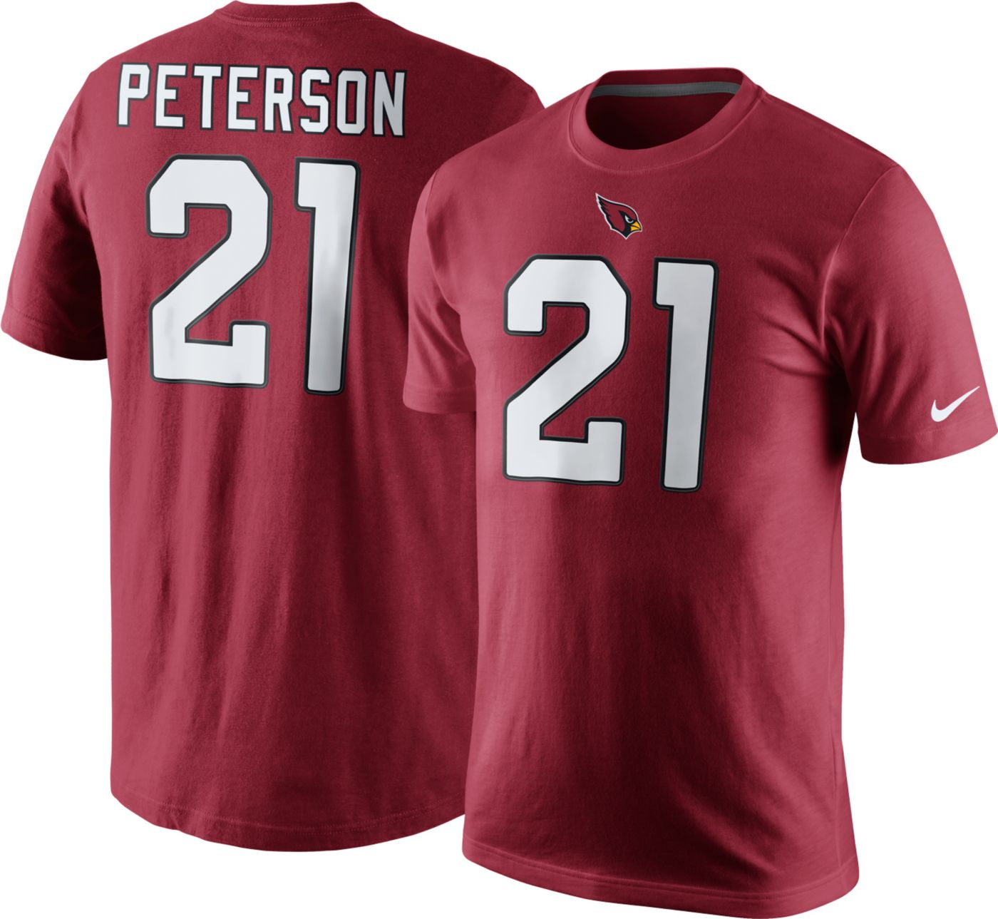 Nike Men's Arizona Cardinals Patrick Peterson #21 Pride Red T-Shirt