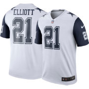 Nike Men's Color Rush Dallas Cowboys Ezekiel Elliott #21 Legend Jersey