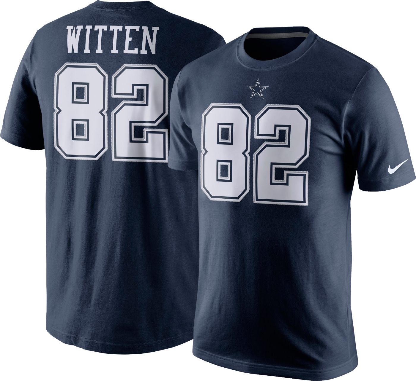 Nike Men's Dallas Cowboys Jason Witten #82 Pride Navy T-Shirt