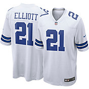 Nike Men's Away Game Jersey Dallas Cowboys Ezekiel Elliott #21