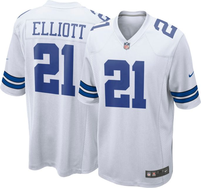 finest selection 67729 b587a Nike Men's Game Jersey Dallas Cowboys Ezekiel Elliott #21