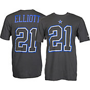 Product Image · Nike Men s Dallas Cowboys Ezekiel Elliott  21 Travel  Charcoal T-Shirt 4d7bc2952