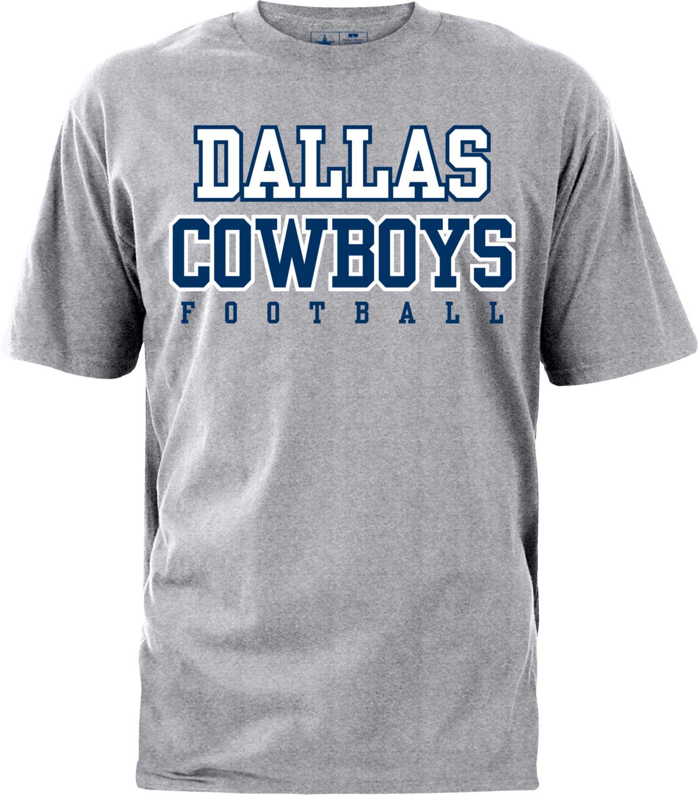 Dallas Cowboys Merchandising Men's Practice Grey T-Shirt