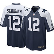 Nike Men's Throwback Game Jersey Dallas Cowboys Roger Staubach #12