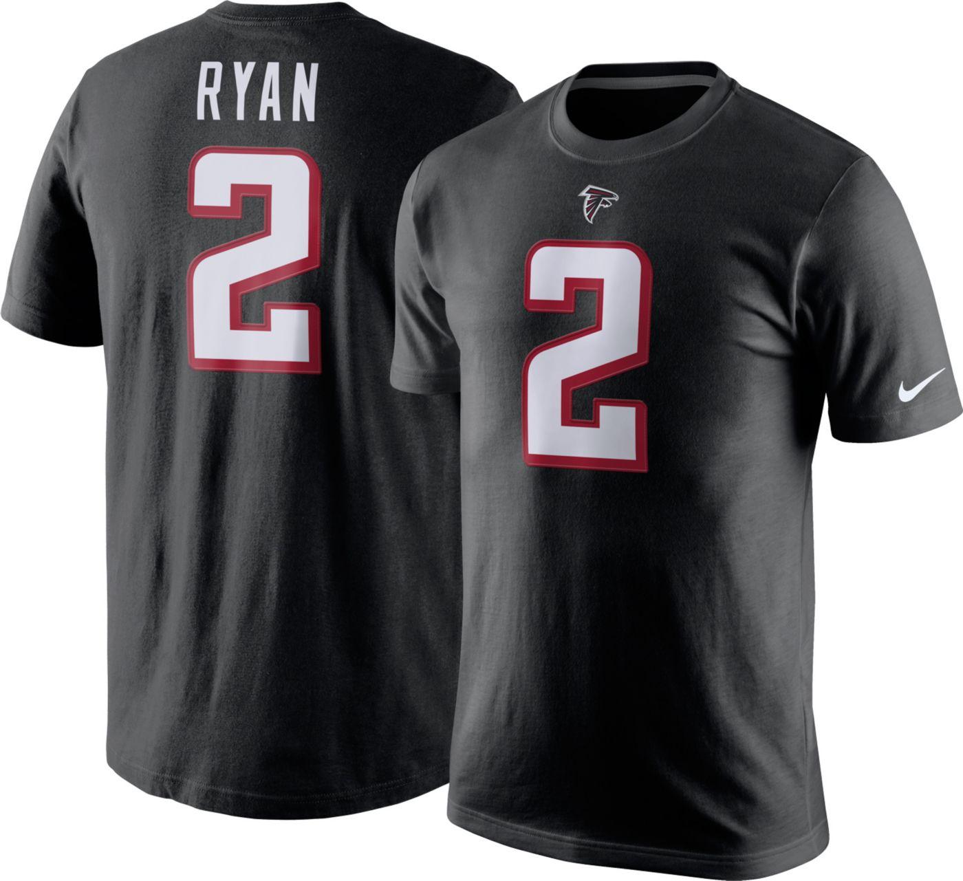 Nike Men's Atlanta Falcons Matt Ryan #2 Pride T-Shirt