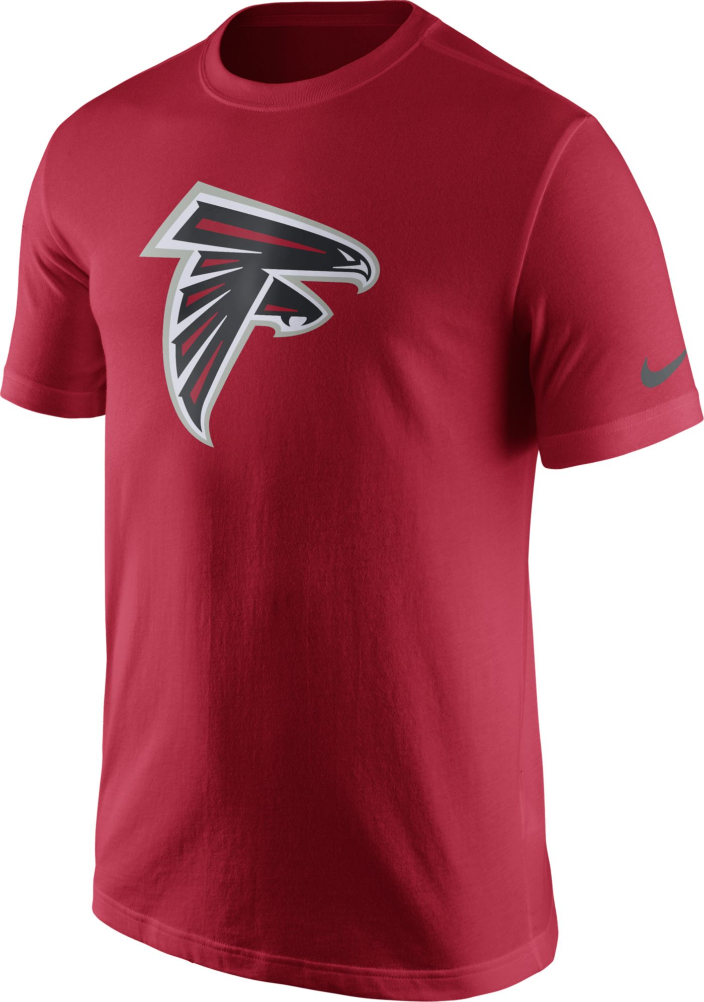 Nike Men's Atlanta Falcons Essential Logo Red T-Shirt