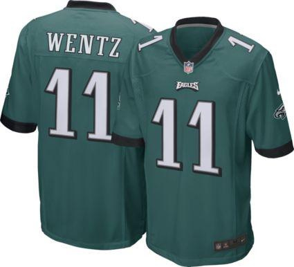 Nike Men s Home Game Jersey Philadelphia Eagles Carson Wentz  11.  noImageFound bd6f79aff