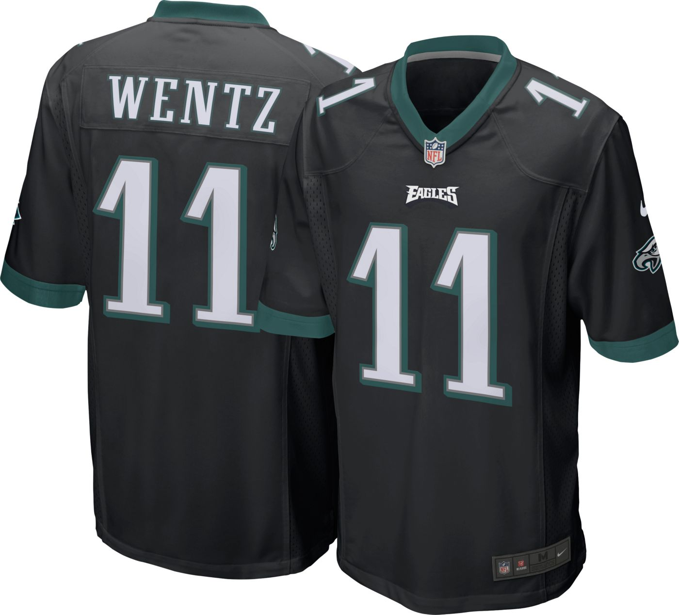 Nike Men's Alternate Game Jersey Philadelphia Eagles Carson Wentz #11