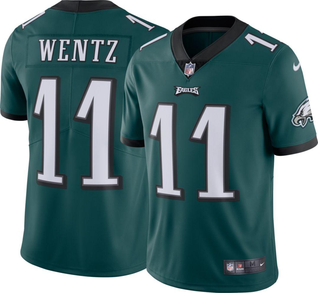 best service ed6d2 c227c Nike Men's Home Limited Jersey Philadelphia Eagles Carson Wentz #11