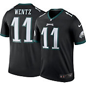 Nike Men's Philadelphia Eagles Carson Wentz #11 Black Legend Jersey