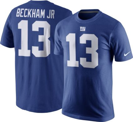 2eb4f6c21 Nike Men s New York Giants Odell Beckham Jr.  13 Pride Blue T-Shirt ...