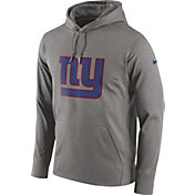 Nike Men's New York Giants Circuit Logo Grey Pullover Hoodie