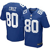 Nike Men's Home Elite Jersey New York Giants Victor Cruz #80
