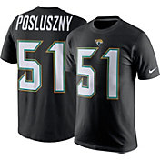 Nike Men's Jacksonville Jaguars Paul Posluszny #51 Black T-Shirt