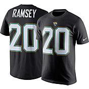 Nike Men's Jacksonville Jaguars Jalen Ramsey #20 Pride Black T-Shirt