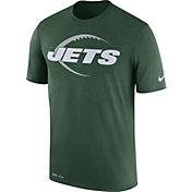 Nike Men's New York Jets Legend Icon Performance Green T-Shirt