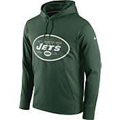 Nike Men's New York Jets Performance Circuit Logo Essential Green Hoodie