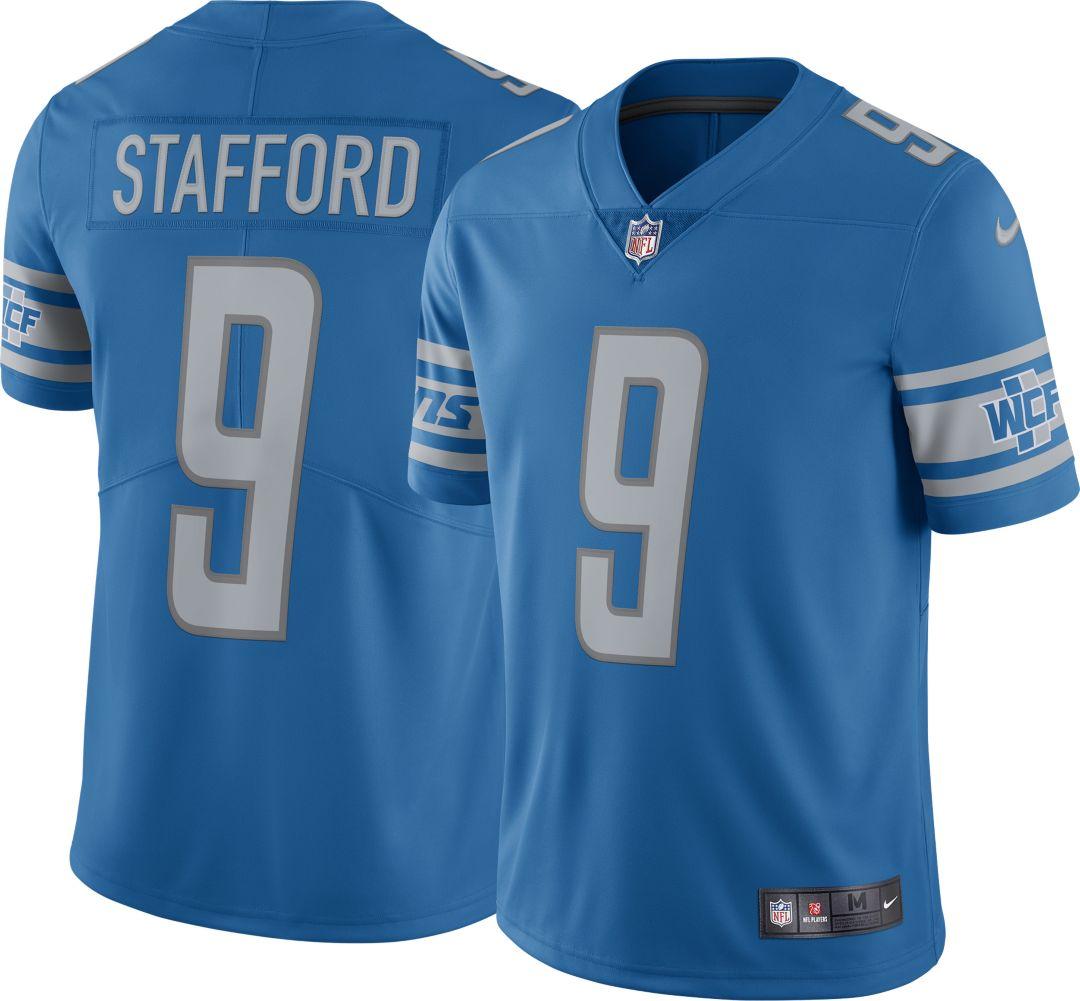 buy popular aa711 fafff Nike Men's Home Limited Jersey Detroit Lions Matthew Stafford #9