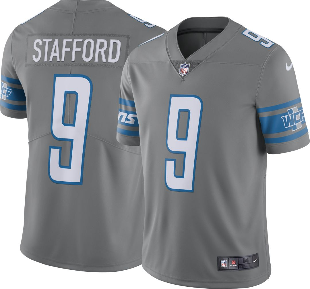 new arrivals 14017 6a8ad Nike Men's Color Rush Limited Jersey Detroit Lions Matthew Stafford #9