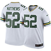 Nike Men's Color Rush Green Bay Packers Clay Matthews #52 Legend Jersey