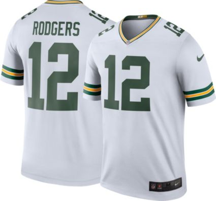 Nike Men s Color Rush Green Bay Packers Aaron Rodgers  12 Legend Jersey.  noImageFound 2cd62473b