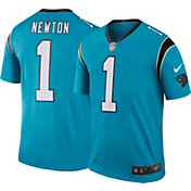 Nike Men's Color Rush Carolina Panthers Cam Newton #1 Legend Jersey