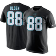 Nike Men's Carolina Panthers Greg Olsen #88 Pride Black T-Shirt