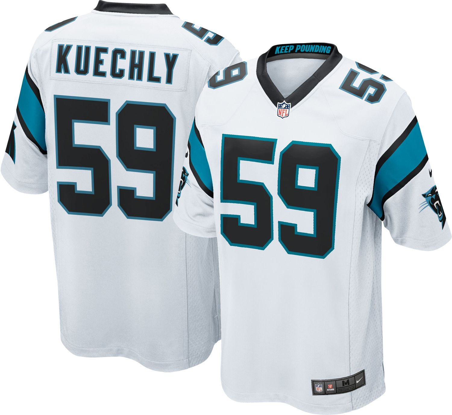 designer fashion c84d3 57137 panthers kuechly jersey