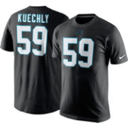 Nike Men's Carolina Panthers Luke Kuechly #59 Pride Black T-Shirt