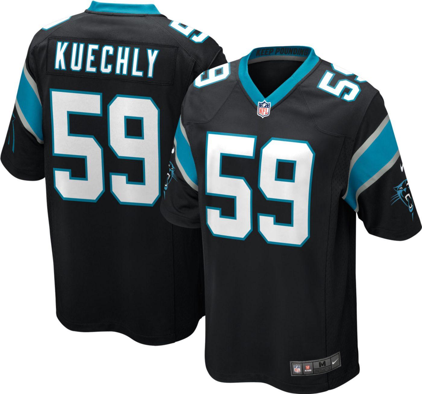 Nike Men's Home Game Jersey Carolina Panthers Luke Kuechly #59
