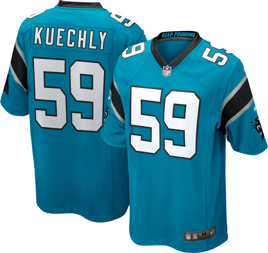 info for a1c0a bb4fb Nike Men's Home Game Jersey Carolina Panthers Luke Kuechly #59