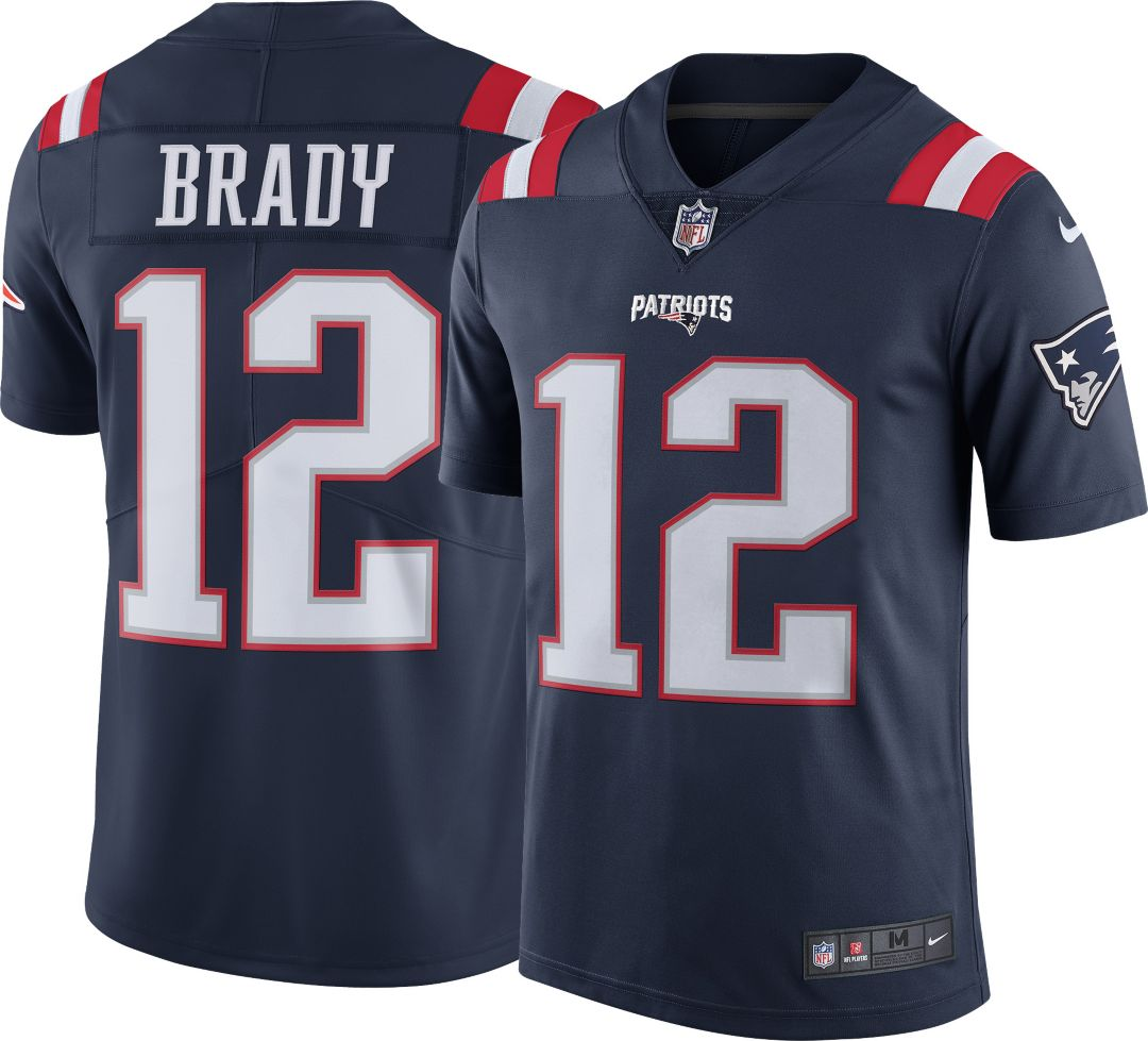 436162a9a8b Nike Men's Color Rush Limited Jersey New England Patriots Tom Brady ...