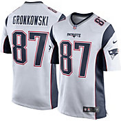 Nike Men's Away Game New England Patriots Rob Gronkowski #87 Jersey