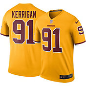 Nike Men's Color Rush Washington Redskins Ryan Kerrigan #91 Legend Jersey