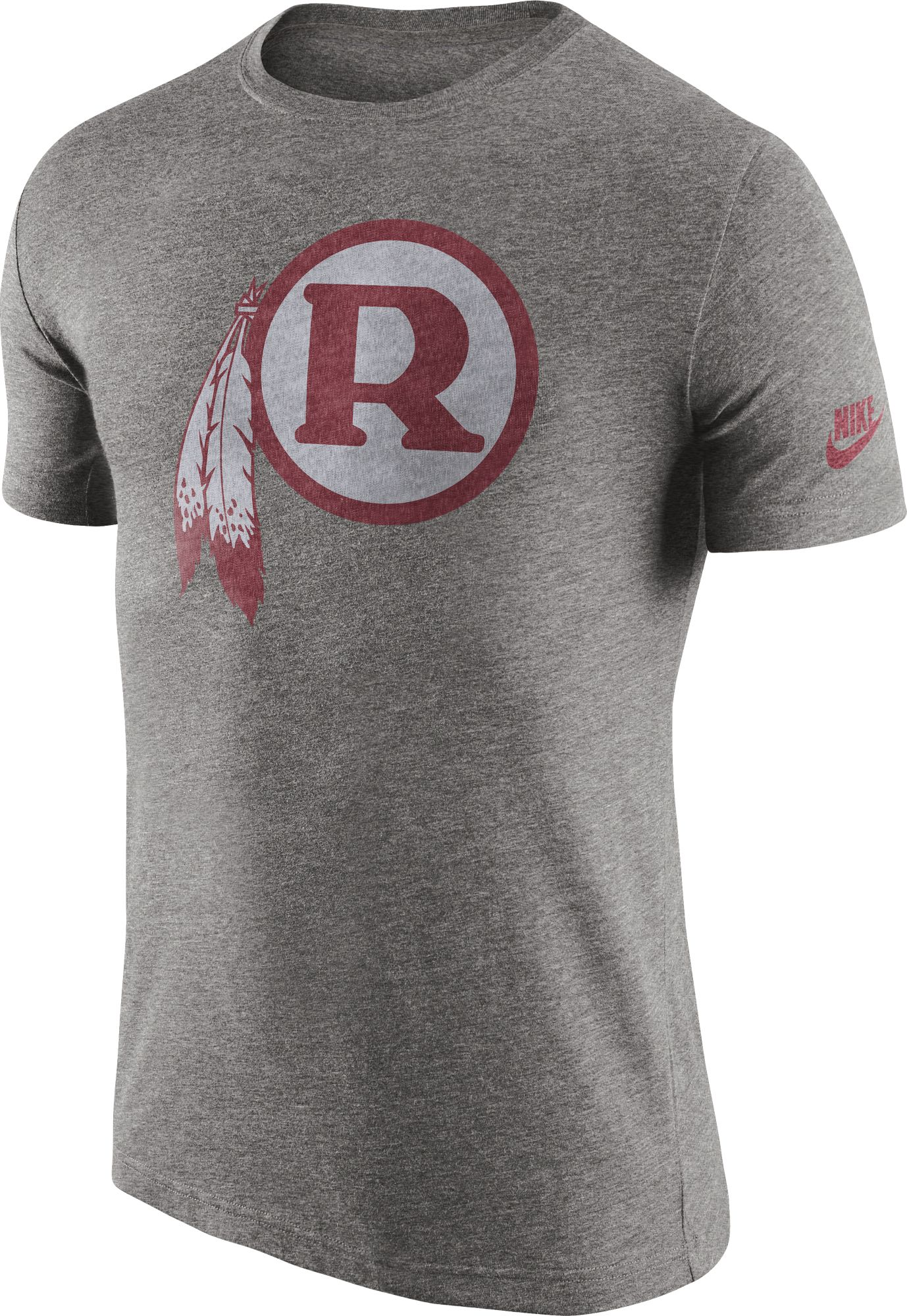 grey redskins jersey