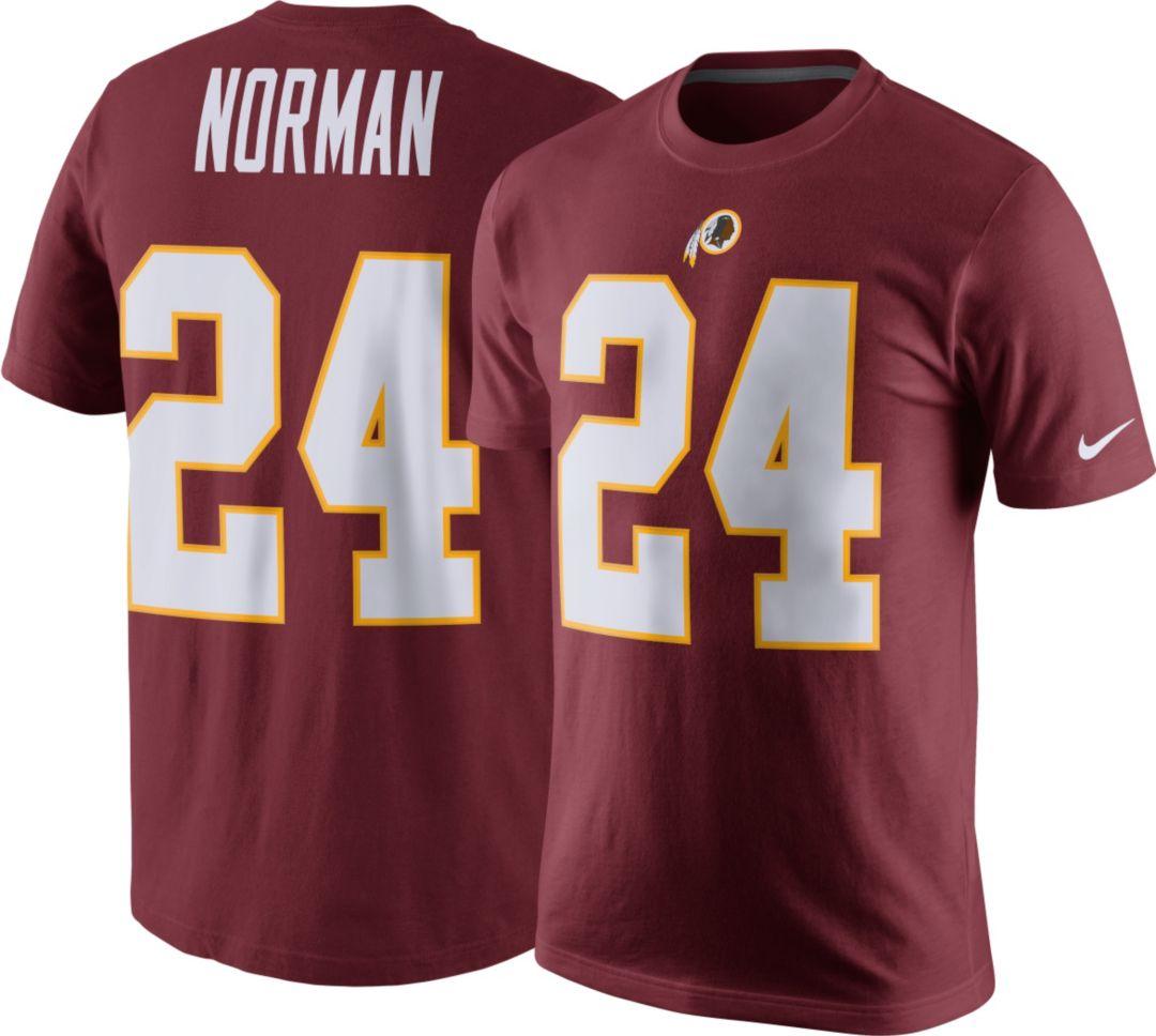 best sneakers 3047a 8fdda Nike Men's Washington Redskins Josh Norman #24 Pride Red T-Shirt